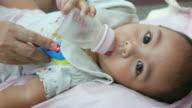 Baby Bottle Feeding