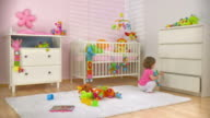 HD DOLLY: Baby Spielzeug In eine Schublade Putting