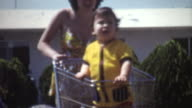 Baby Shopping Cart 1972
