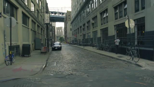 Back Alley - dolly shot