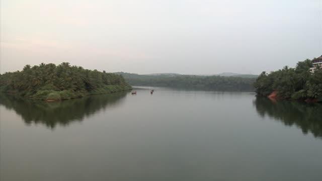 WS, PAN, Backwaters of Kerala, India