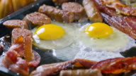 Bacon, Sausage and Eggs