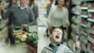 Bösen Buben im Supermarkt