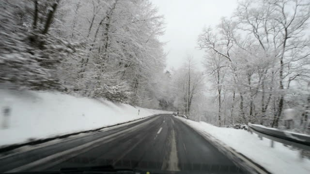 Bad road conditions, HD
