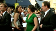 Red Carpet interviews Katherine Parkinson interview SOT Sue Perkins and Mary Berry along on red carpet Chris Chibnall and Olivia Coleman interview...