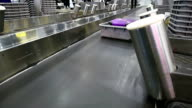 baggage conveyor belt at airport