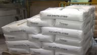 WGN Bags Of Sugar In Tootsie Roll Factory on November 01 2012 in Chicago Illinois