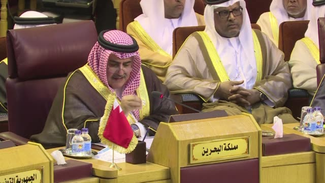 Bahrain's foreign minister said Sunday that Lebanon is under the total control of the Iran backed Hezbollah movement in a speech at an Arab League...
