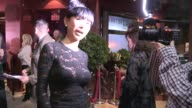 Bai Ling arrives at the DWTS After Party at Crustacean in Beverly Hills in Celebrity Sightings in Los Angeles