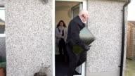 Bailiff / Debt collector / Enforcement agent Repo Man removes TV