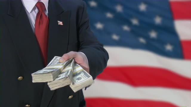 Bailout. Geld von der US-Regierung. Business, Rezession, depression, die Sie planen.