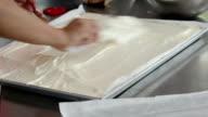 baking sweet food, Kneaded dough