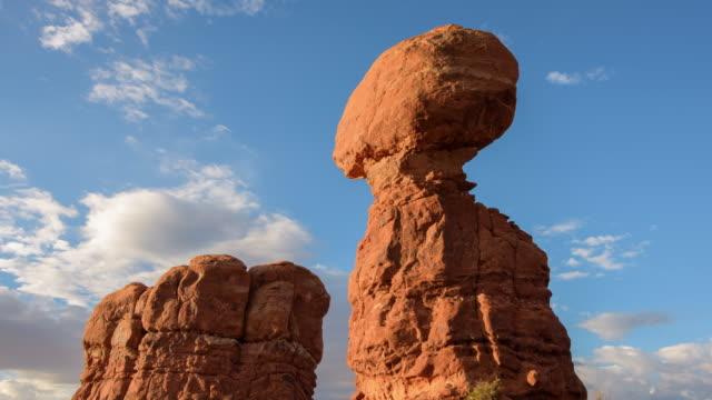 Balanserad Rock på Arches National Park