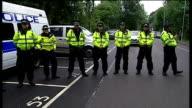 Vivienne Westwood Police officers across road