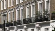 MS ZO Balconies of opulent apartments / Chelsea, London, England