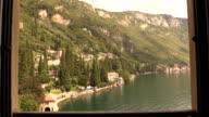 Balcony View in Varenna Lake Como Italy