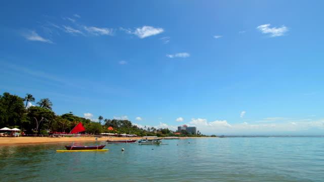 Bali Indonesia Villa at Lembongan Island Timelapse