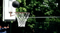 HD SUPER SLOW-MO: Ball Missing The Hoop