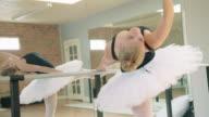 Ballerina Warming-Up