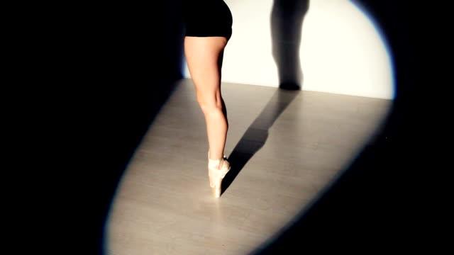 Ballet dancing woman