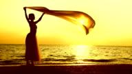 Balletto sulla spiaggia