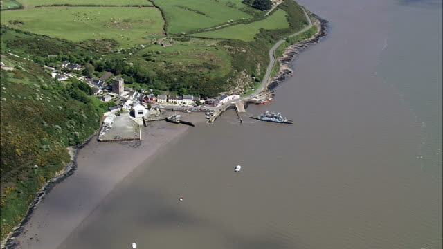 Ballywhack Lower - Aerial View - Munster,  County Waterford,  helicopter filming,  aerial video,  cineflex,  establishing shot,  Ireland