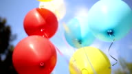 Baloons outdoors