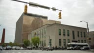 Baltimore Police Department headquarters and District Court of Maryland prior to a rally in honor of Freddie Gray Baltimore Maryland April 25 2015...