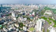 Bangkok city aerial
