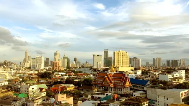 Die Stadt Bangkok Mahanakhon Skyline, Thailand, Asien