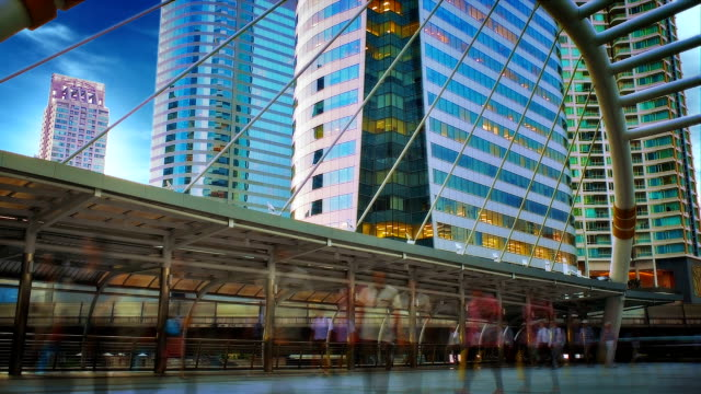 Vista città di Bangkok