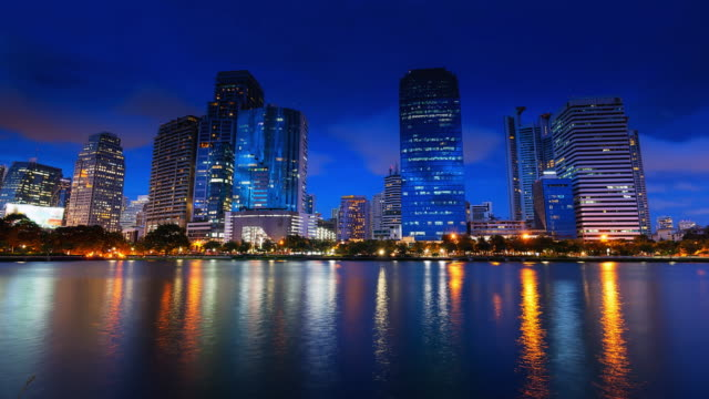 Bangkok vom Tag zur Nacht, Zeitraffer