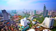 Bangkok in morning light