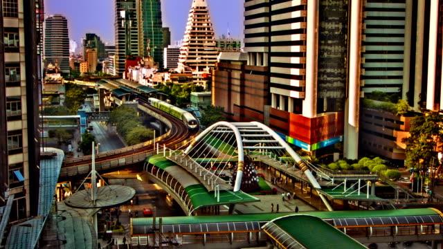 Scena di Bangkok