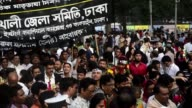 Bangladeshis pay respects to the martyrs who were killed 63 years ago an incident that marked the beginning of the countrys fight for independence