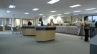 WS Bank lobby, Bethlehem, Pennsylvania, USA