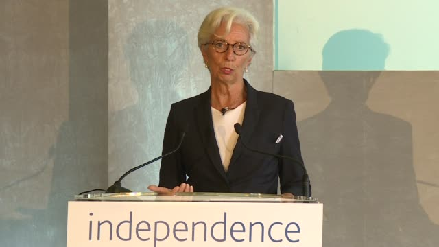 Bank of England '20 Years On' conference Christine Lagarde speech Christine Lagarde speech SOT re fintech / future of regulations / artificial...