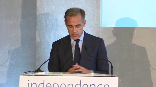 Bank of England '20 Years On' conference Mark Carney closing speech Mark Carney speech SOT re capitalisation of the Bank of England