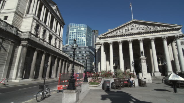 WS PAN Bank of England and Royal Exchange / London, United Kingdom