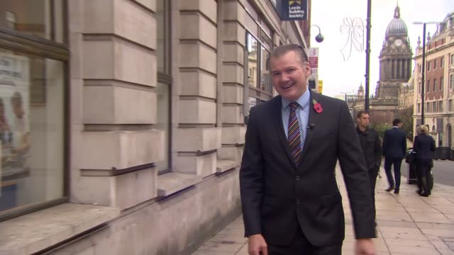 Bank of England expected to raise interest rates Possible effects for borrowers Leeds View down on people along shopping street Reporter to camera...