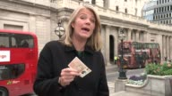 Bank of England Governor signals potential interest rate rise Reporter to camera SOT