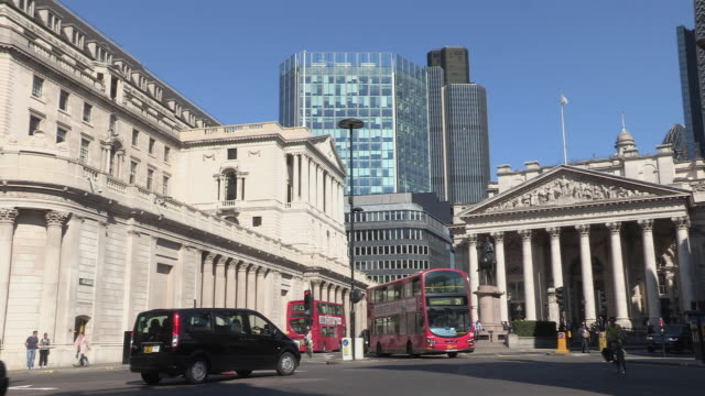 Bank of England in the City of London