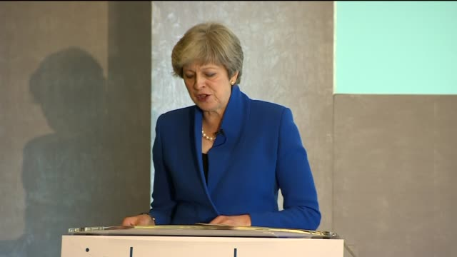 Theresa May speech Theresa May speech SOT re EU / Brexit / Florence speech / managing debt / investment in public services QA session / Theresa May...