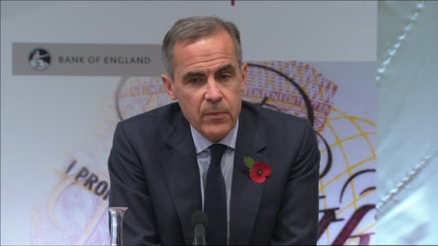Bank of England interest rate rise press conference QA session with Mark Carney Dave Ramsden and Ben Broadbent SOT