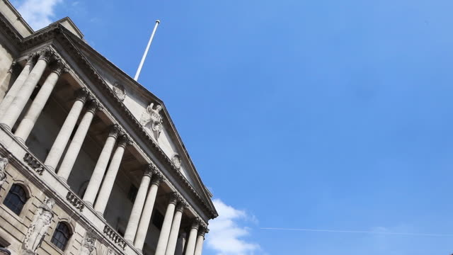 Bank of England, time lapse.