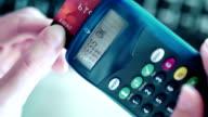 Bank online card reader
