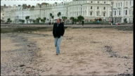 Banking Commission says banks need 'electrified' ringfence WALES Conwy EXT Colin Jones along beach