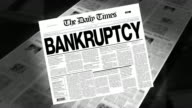 Bankruptcy - Newspaper Headline (Intro + Loops)