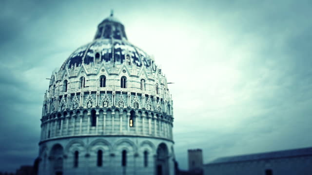 Baptisterium von Pisa zum Campo dei Miracoli in