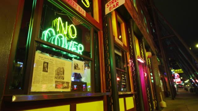 Bar Neon at night